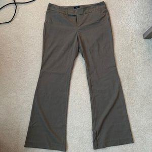 Gap Hadley brown dress pants